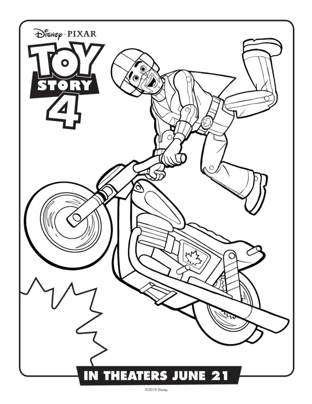 Coloring Page 6 Toy Story