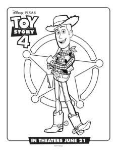 Coloring Page 7 Toy Story