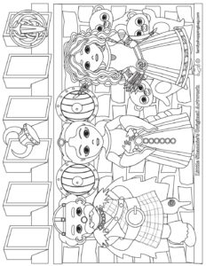 Coloring Page Brave