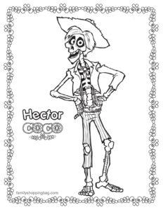 Coloring Page Coco
