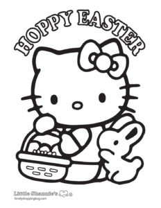 Coloring Page Easter