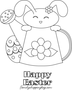 Coloring Page Easter 42013