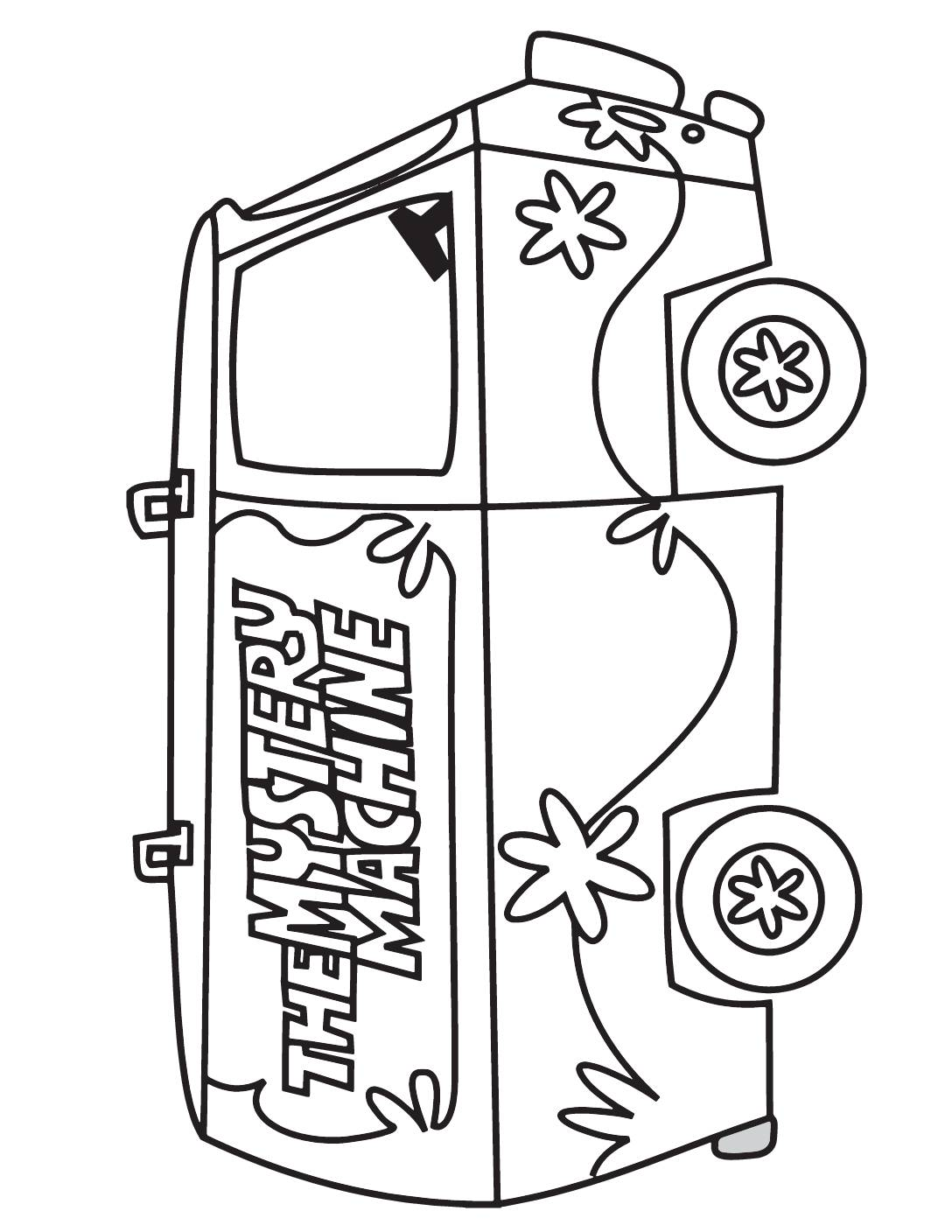 Coloring Page Scooby Doo