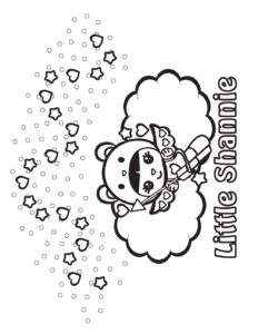 Coloring Page  2 Shannies