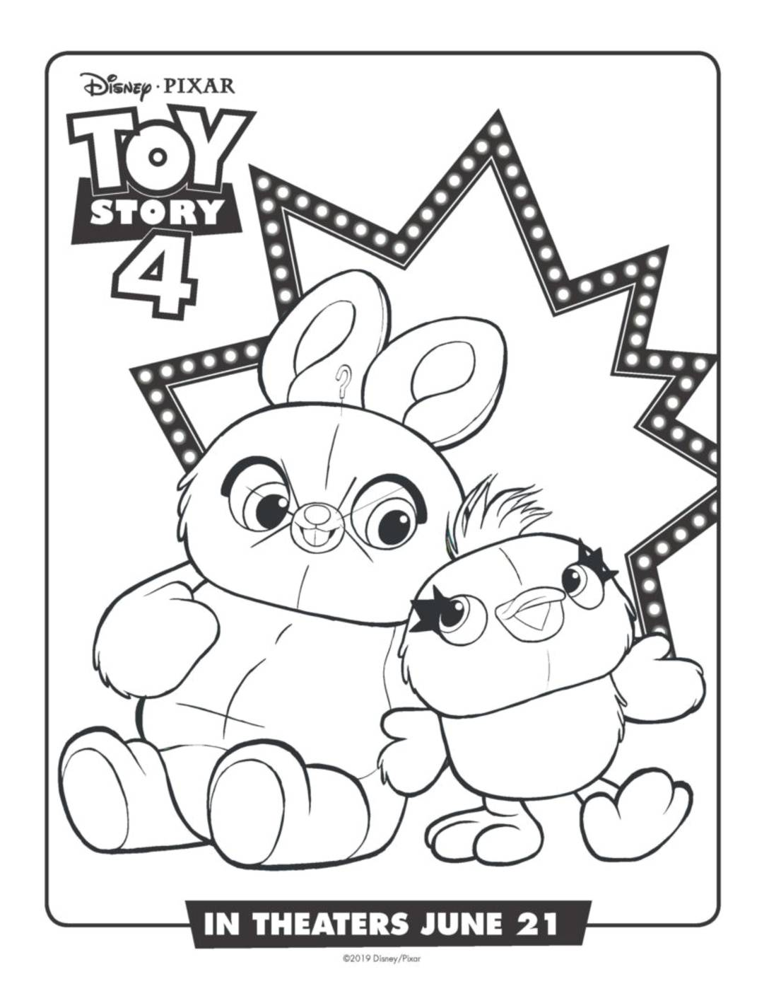 Coloring Page Toy Story