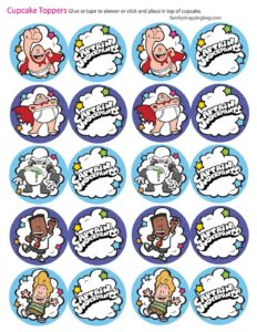 Cupcake Toppers Captain Underpants