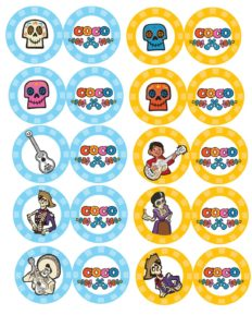 Cupcake Toppers Coco