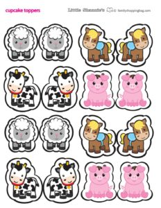 Cupcake Toppers Farm