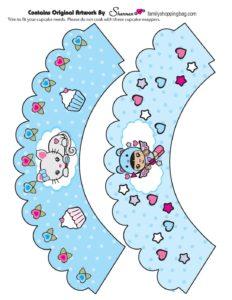 Cupcake Valentine Shannies