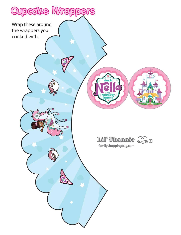 Cupcake Wrappers 2 Nella Knight