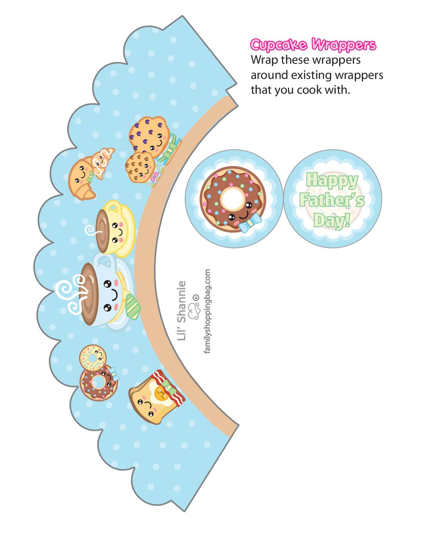 Cupcake Wraps 2 Fathers Day Breakfast
