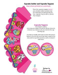 Shopkkins Cupcakes
