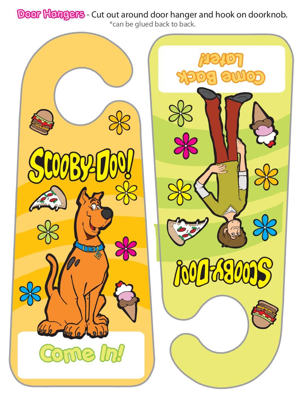 Door Hanger Scooby Doo