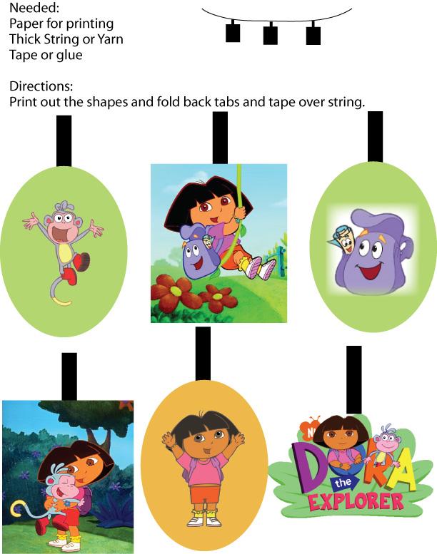 Dora Decorations