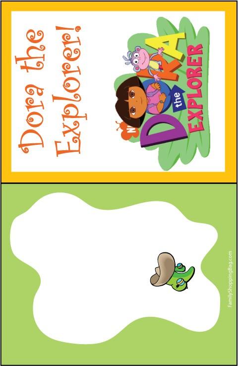 Dora Invite 5