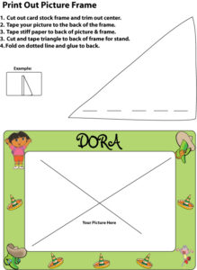 Dora Picture Frame