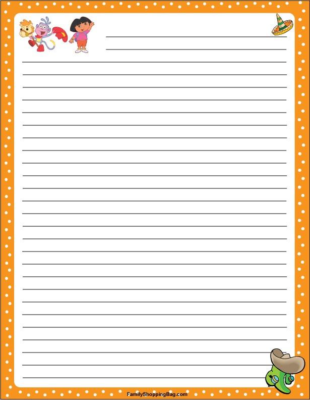 Dora Stationery