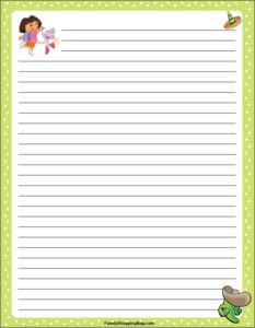 Dora Stationery 2