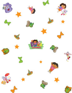 Dora Wrapping Paper