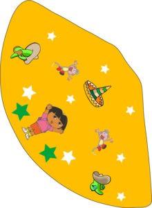 Dora the Explorer Party Hat