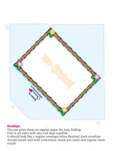Envelope Lilo and Stitch