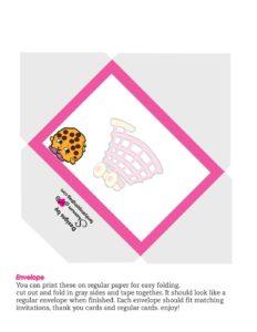 Shopkins Envelope