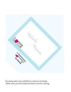 Minnie Printable Envelope
