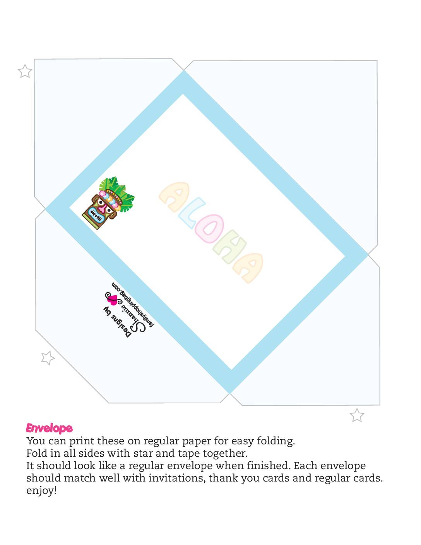 Envelope Luau