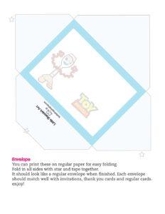 Envelope Toy Story
