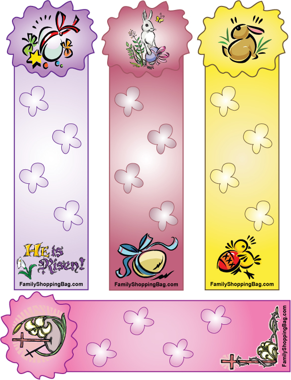Fancy Printable Bookmarks