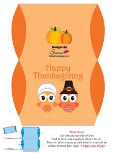 Favor Box 2 Thanksgiving