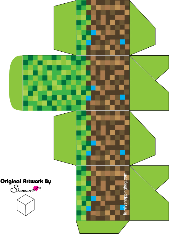 Minecraft Favor Box 3