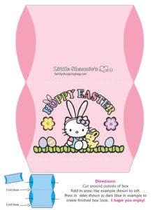 Favor Box 5 Easter