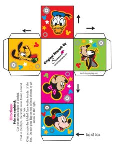 Mickey Mouse Box