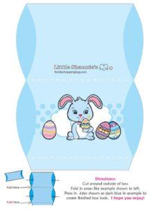 Favor Box Easter