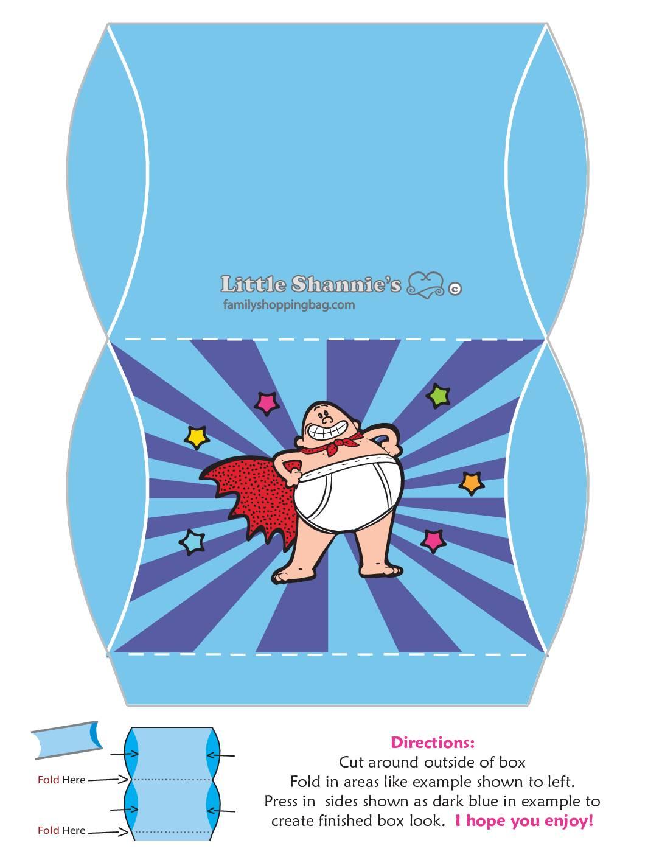 Favor Box Medium 2 Captain Underpants