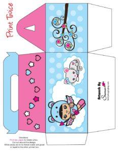 Favor Box Valentine Shannies