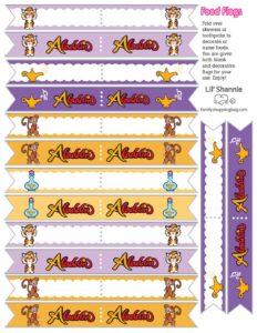 Food Flags Page Aladdin