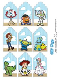 GiftTags Toy Story