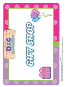 Gift Shop Sign Doc Mcstuffins