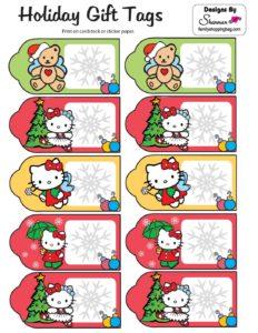 Hello Kitty Gift Tags