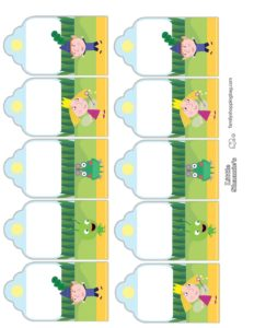 Gift Tags Ben & Holly