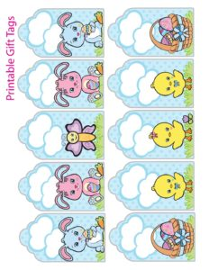 Gift Tags Easter