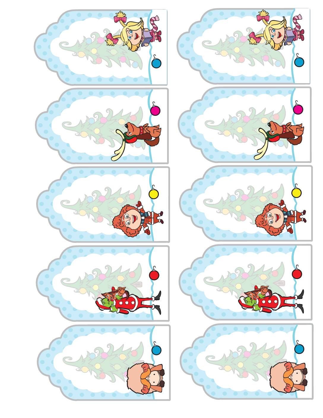 Gift Tags Grinch