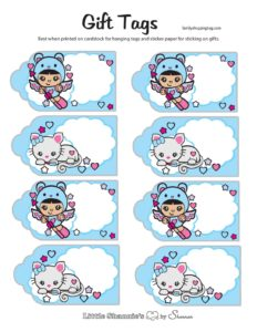 Gift Tags Valentine Shannies