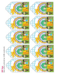 Gift Tags Wizard of Oz