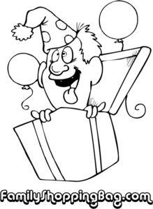Goofy Man In Gift Box