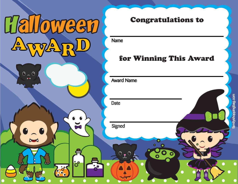Halloween Award