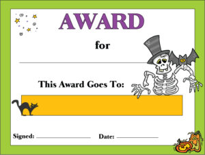 Halloween Award 1