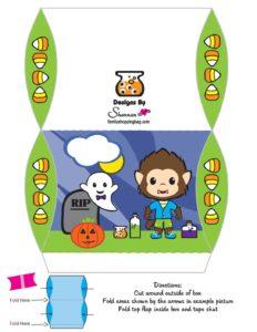 Halloween Favor Box 3